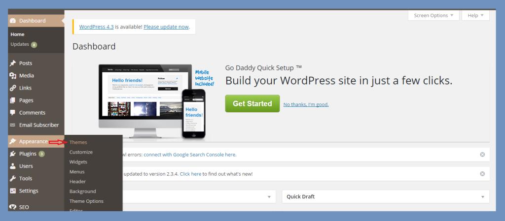 Wordpress Tutorial - How to install WordPress theme