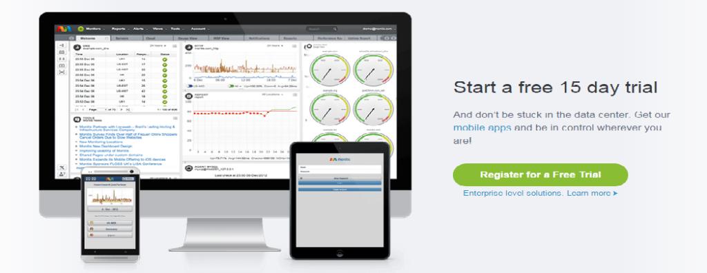 Monitis website speed test tool | Thkaur Blogger