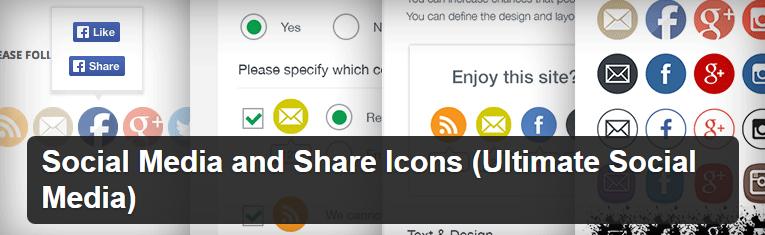 Social media share icons wordpress Plugin | Thakur Blogger