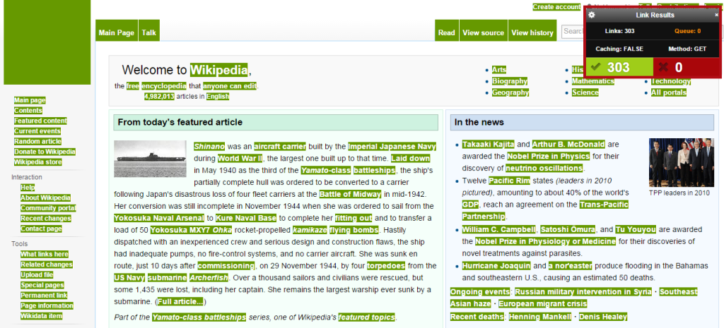 Check my links Chrome SEO extension | Thakur Blogger