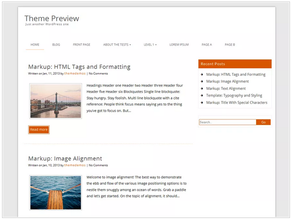 Decent free wordpress templates - Blogging themes | Thakur Blogger
