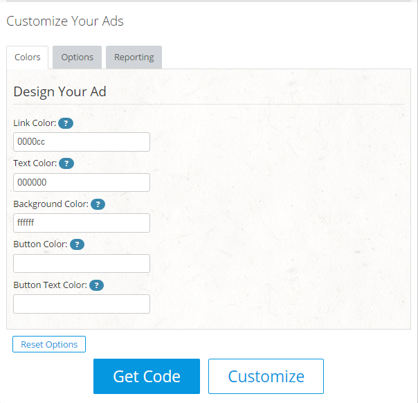 How to customize Chitika Ads   Thakur Blogger
