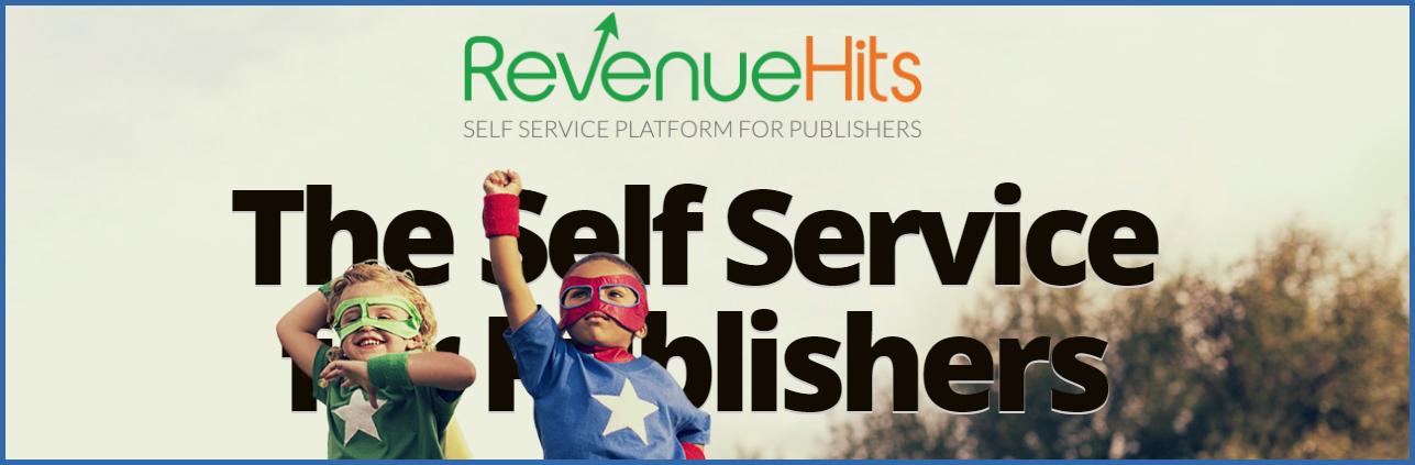 Revenuehits ads | Google Adsense alternatives 2018