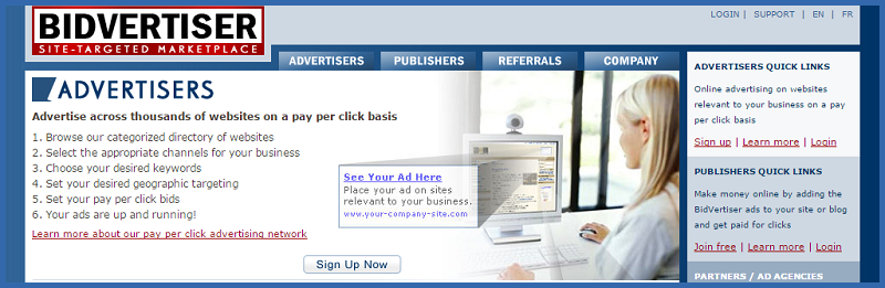 BidAdvertiser Advertising Network - Thakur Blogger