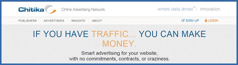 Chitika Advertising Network - Thakur Blogger