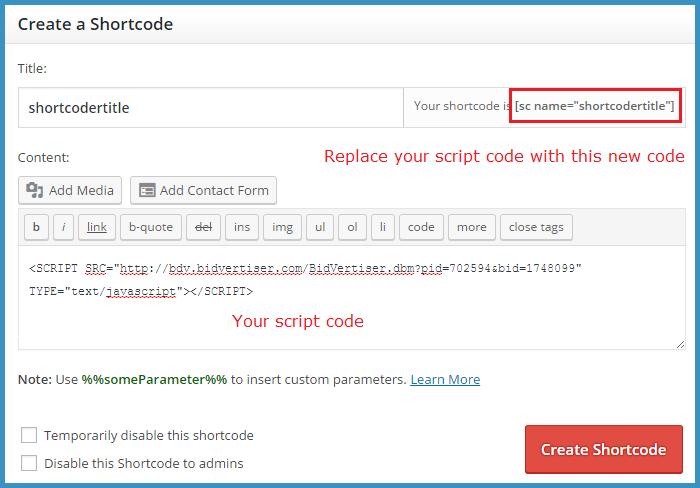 How to use Shorcoder wordpress plugin - Thakur Blogger