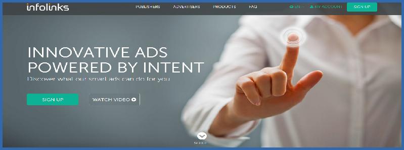 Infolink advertising network - Thakur Blogger