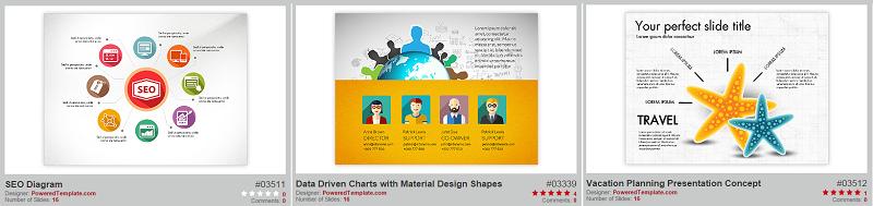 Powered Template - Powerpoint diagram templates - Thakur Blogger