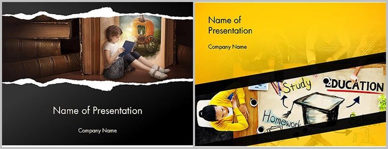 PPT Star - PowerPoint template design for education - Thakur Blogger