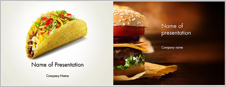 PPT Star - PowerPoint template design for food - Thakur Blogger