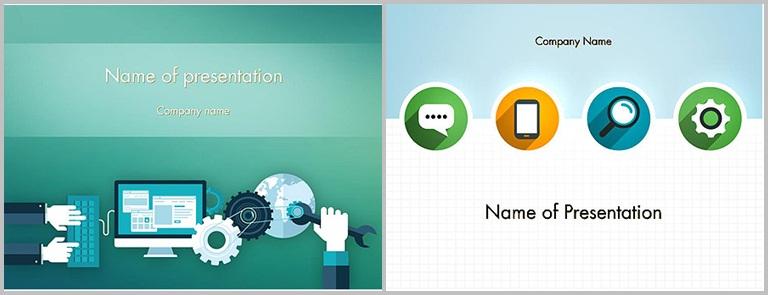 PPT Star - PowerPoint template design for technology - Thakur Blogger