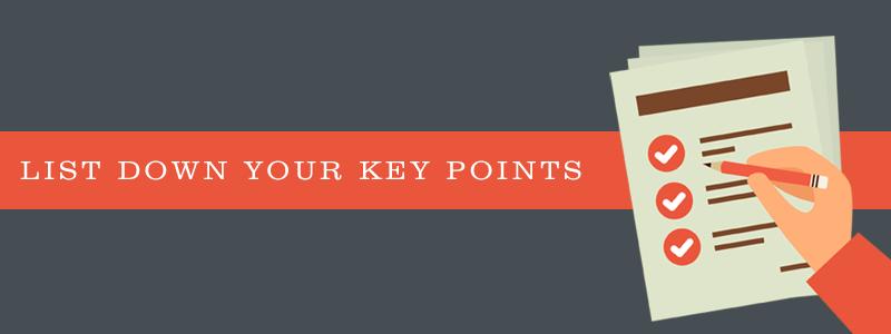 Blog post formatting - list down key points - Thakur Blogger