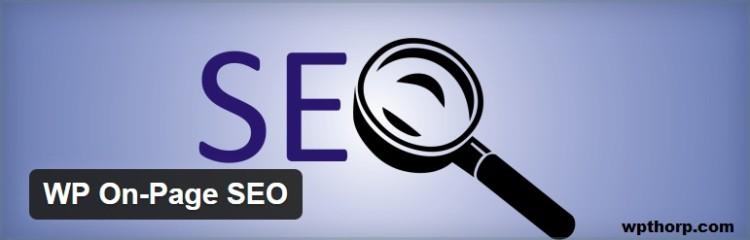 WP On page SEO plugin for wordpress - Thakur Blogger