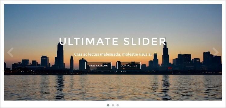 Slider Ultimate WordPress image slide show plugin