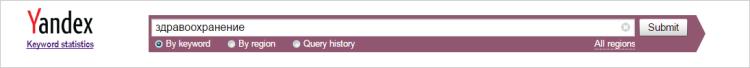 Yandex keyword statistics tool - Thakur Blogger
