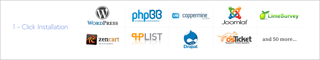cms support in bluehost webhosting plans