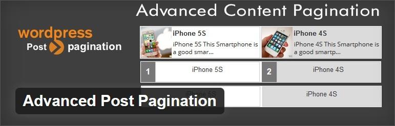 Advanced Post Pagination - WordPress Plugin For Pagination
