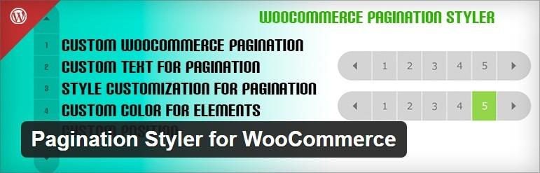 Pagination Styler for Woocommerce - Free WordPress Pagination Plugin