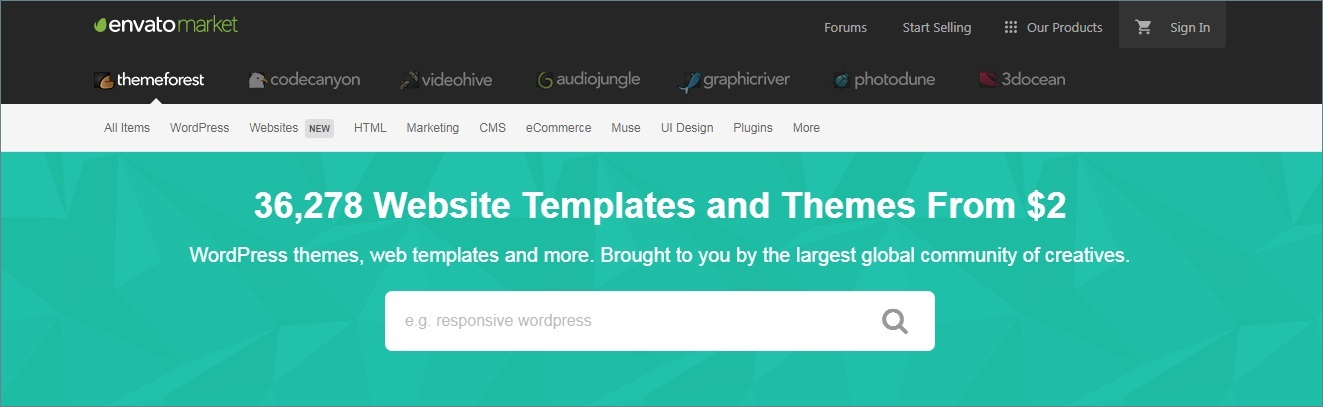 themeforest - Best wordpress theme affiliate program