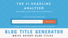 10 Free Blog Title Generator Tools – Write Catchy Blog Titles