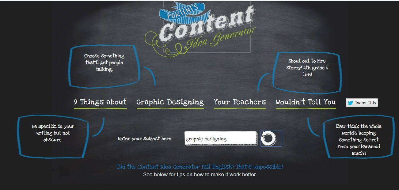 8 free blog title generator tools to write catchy titles for Portent title maker