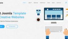 JD BizOne - OnePage Responsive Joomla Template