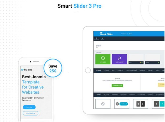 JD BizOne - Smart Slider 3 Pro