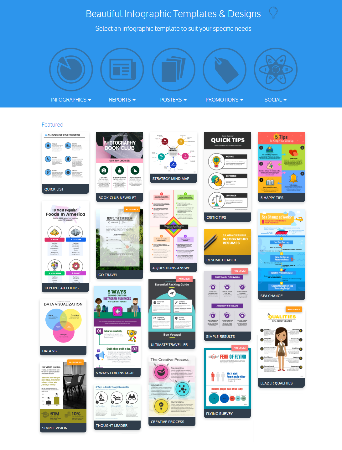 Create Free Infographics Online – 9 Infographic Maker Tools