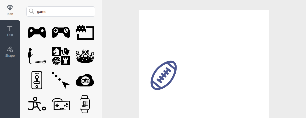 DesignEVO - Custom logo step 1
