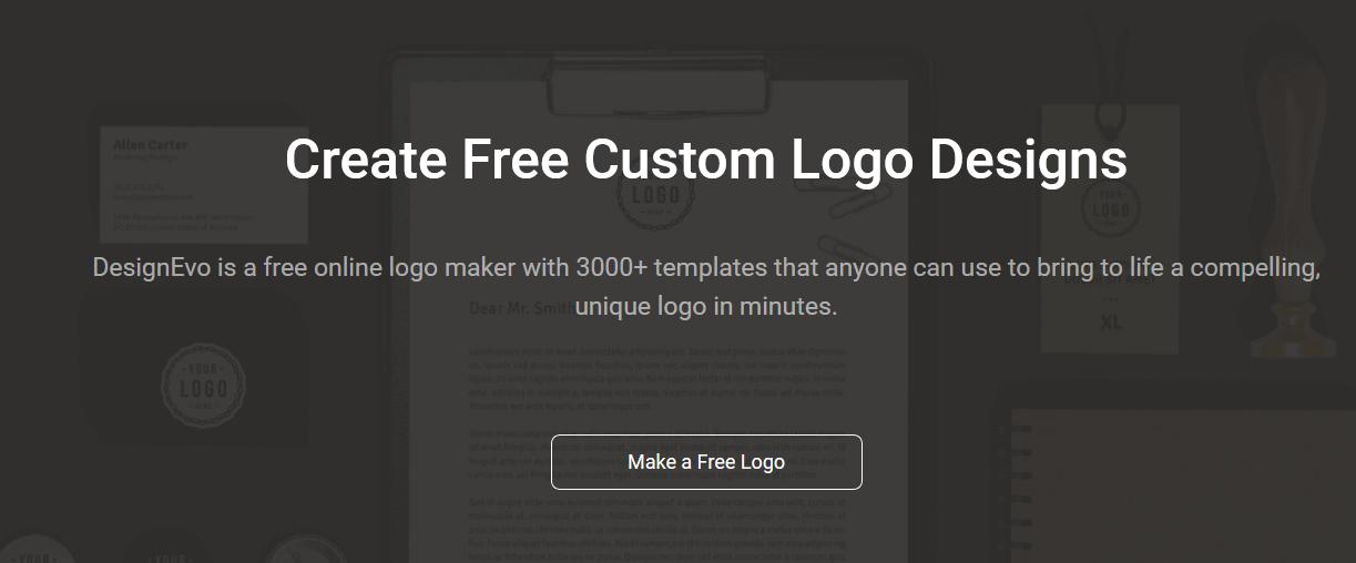 DesignEVO Free Logo Maker Tool Online
