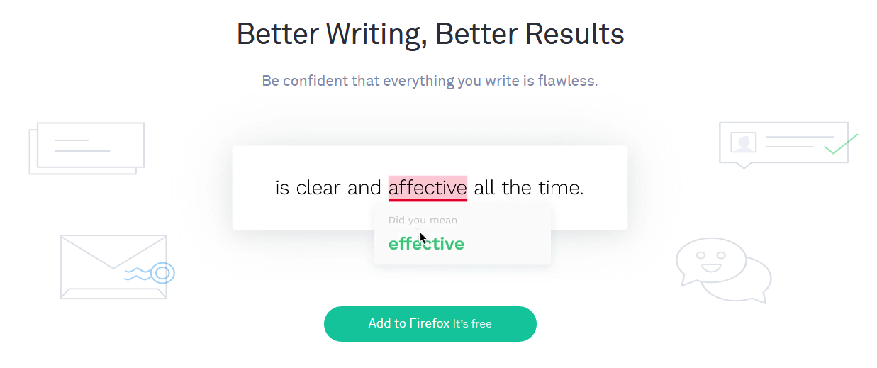 grammarly web extension for students