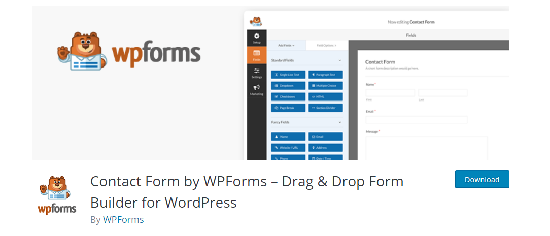WP Forms - WordPress Form Builder Plugin