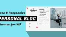personal wp blog themes